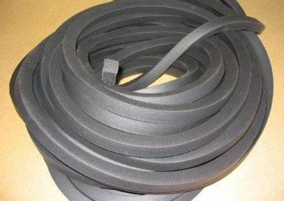 wyroby gumowe - Sznury porowate prostokatne