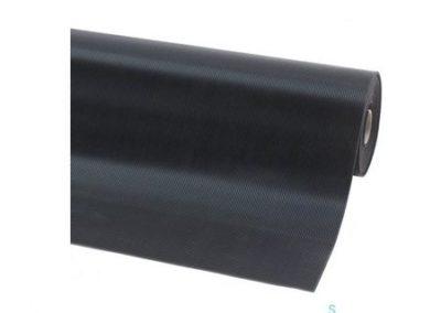 wyroby gumowe - wykładzina gumowa wąski ryfel